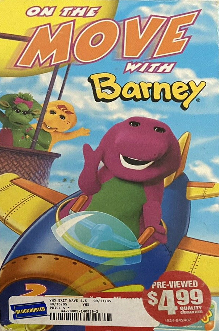 On The Move With Barney Barney Wiki Fandom Powered By