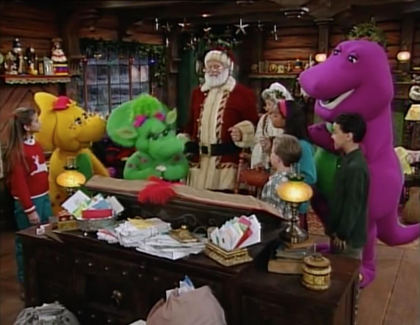 Barney S Night Before Christmas Barney Wiki Fandom