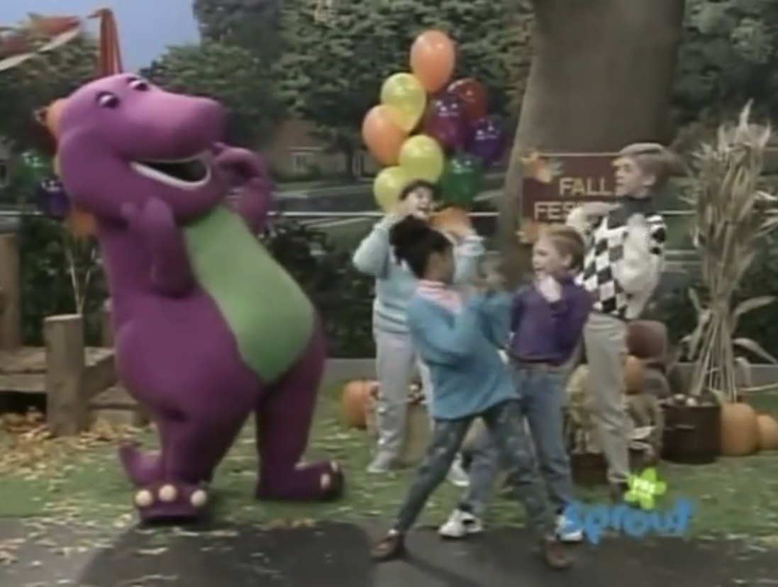 Barney and friends videos move