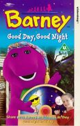 Barney's Good Day, Good Night UK VHS 1998 Re-relase