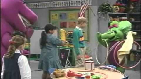 Barney's Colors And Shapes Trailer 1997