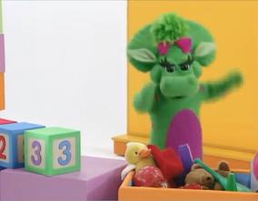 Look at me i'm three
