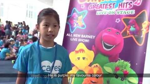 Mediacorp Cares - Barney's Greatest Hits Live on Stage (English)