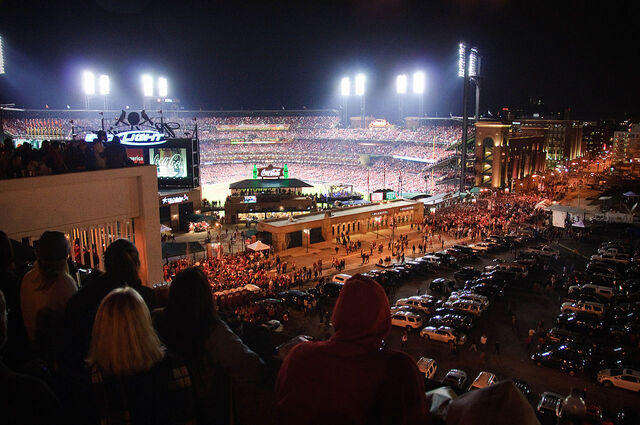 File:Our view of the stadium.jpg