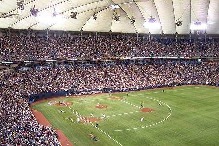 File:Metrodome ALDS Oct 2004.JPG