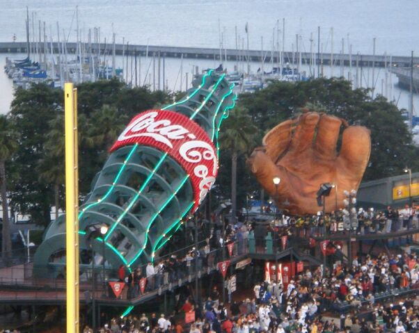 File:AT&T Park - Coke bottle and glove.jpg