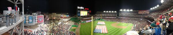 Nationals Park Opening Night