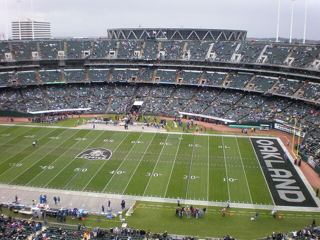 File:Oakland Coliseum field from Mt. Davis.JPG