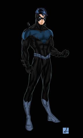 File:Nightwing Redesign by sean izaakse.jpg