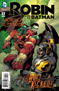 Robin Son of Batman Vol 1-11 Cover-1