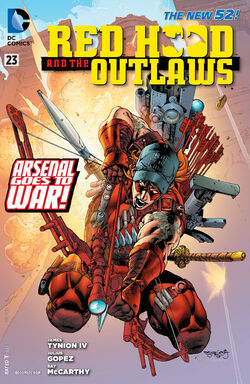 Red Hood and The Outlaws Vol 1-23 Cover-1