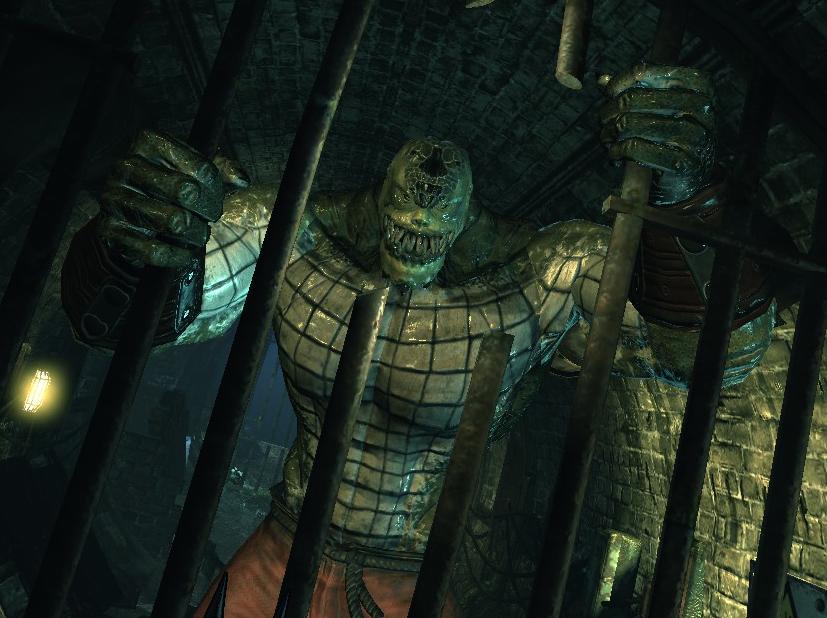 Killer Croc Arkham Asy...