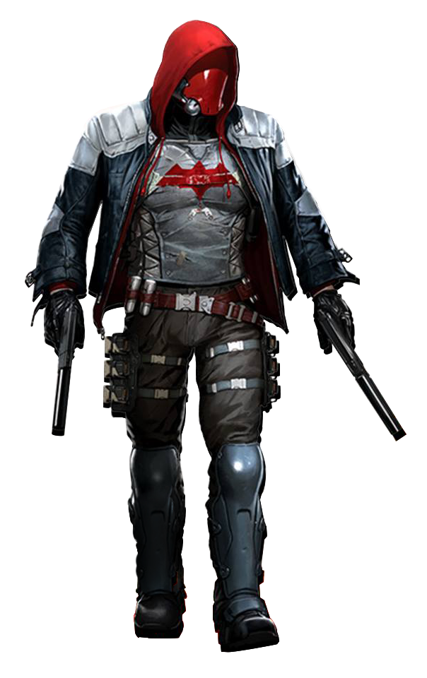 Image Arkham Knight Red Hoodpng Batman Wiki FANDOM