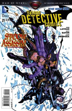 Detective Comics Vol 2-21 Cover-1