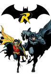 Batman Dick Grayson and Robin Damian Wayne
