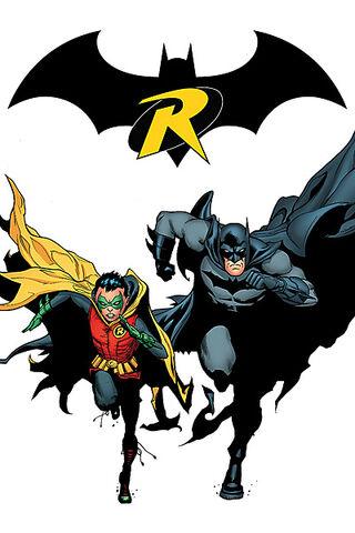 File:Batman Dick Grayson and Robin Damian Wayne.jpg