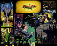 Batman Forever Comic art