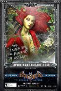 PoisonIvy arkhamasylum poster