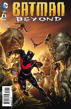 Batman Beyond Vol 6-9 Cover-1