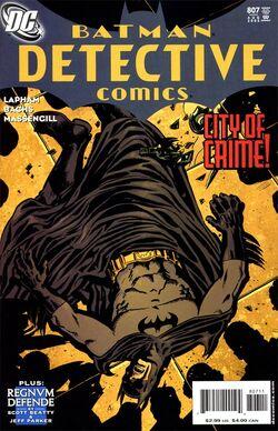 Detective Comics Vol 1-807 Cover-1