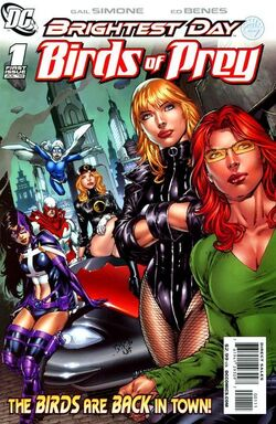 The Birds of Prey The Brightest Day-1 Cover-1