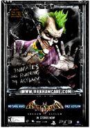 Joker arkhamasylum poster