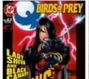Birds of Prey Issue 62