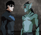 Nightwing and Lagoon