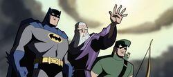 Batman Merlin Green Arrow