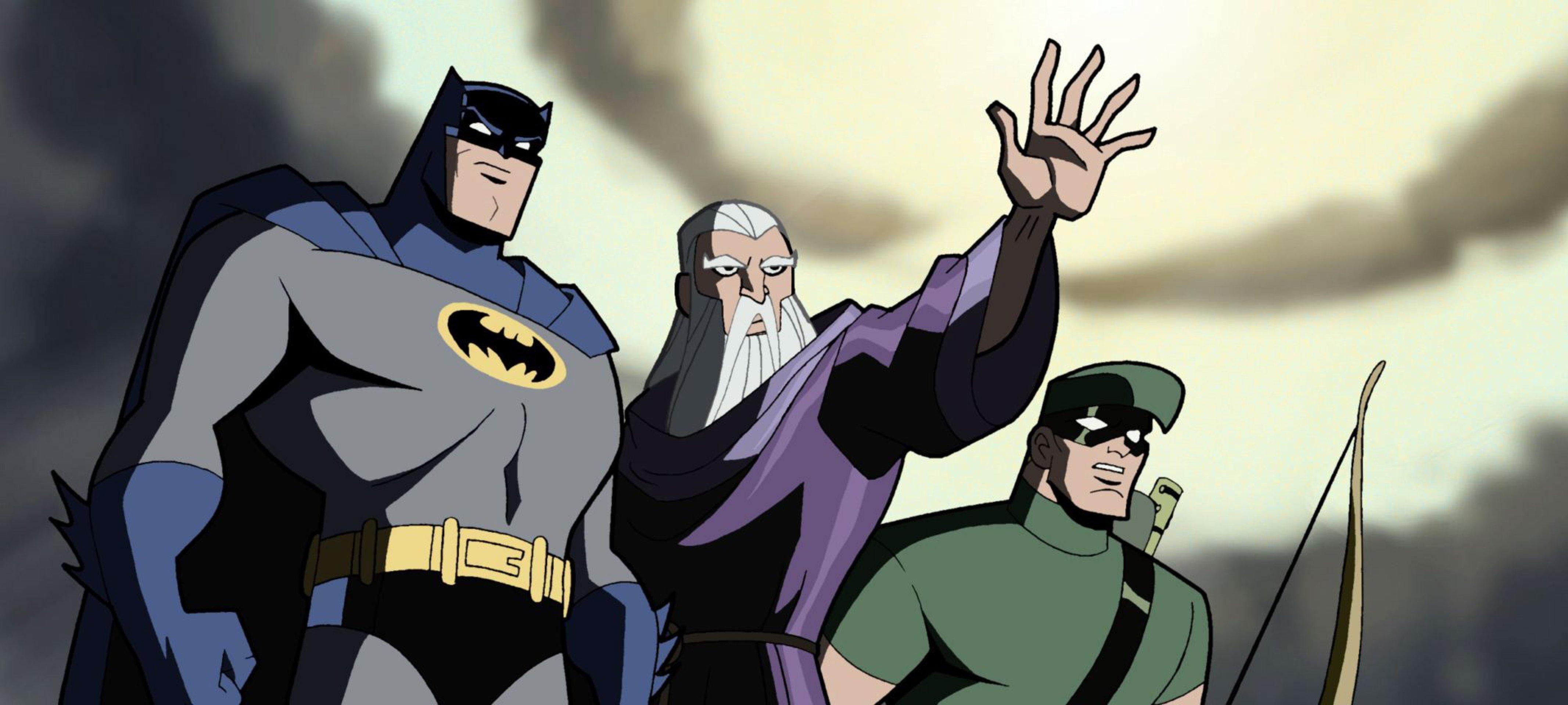 File:Batman Merlin Green Arrow.jpg