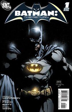 Batman The Return-1 Cover-1