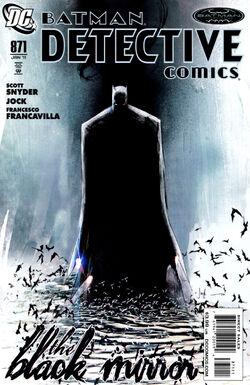 Detective Comics Vol 1-871 Cover-1