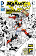 Harley Quinn Invades Comic Con International San Diego Vol 2-1 Cover-4