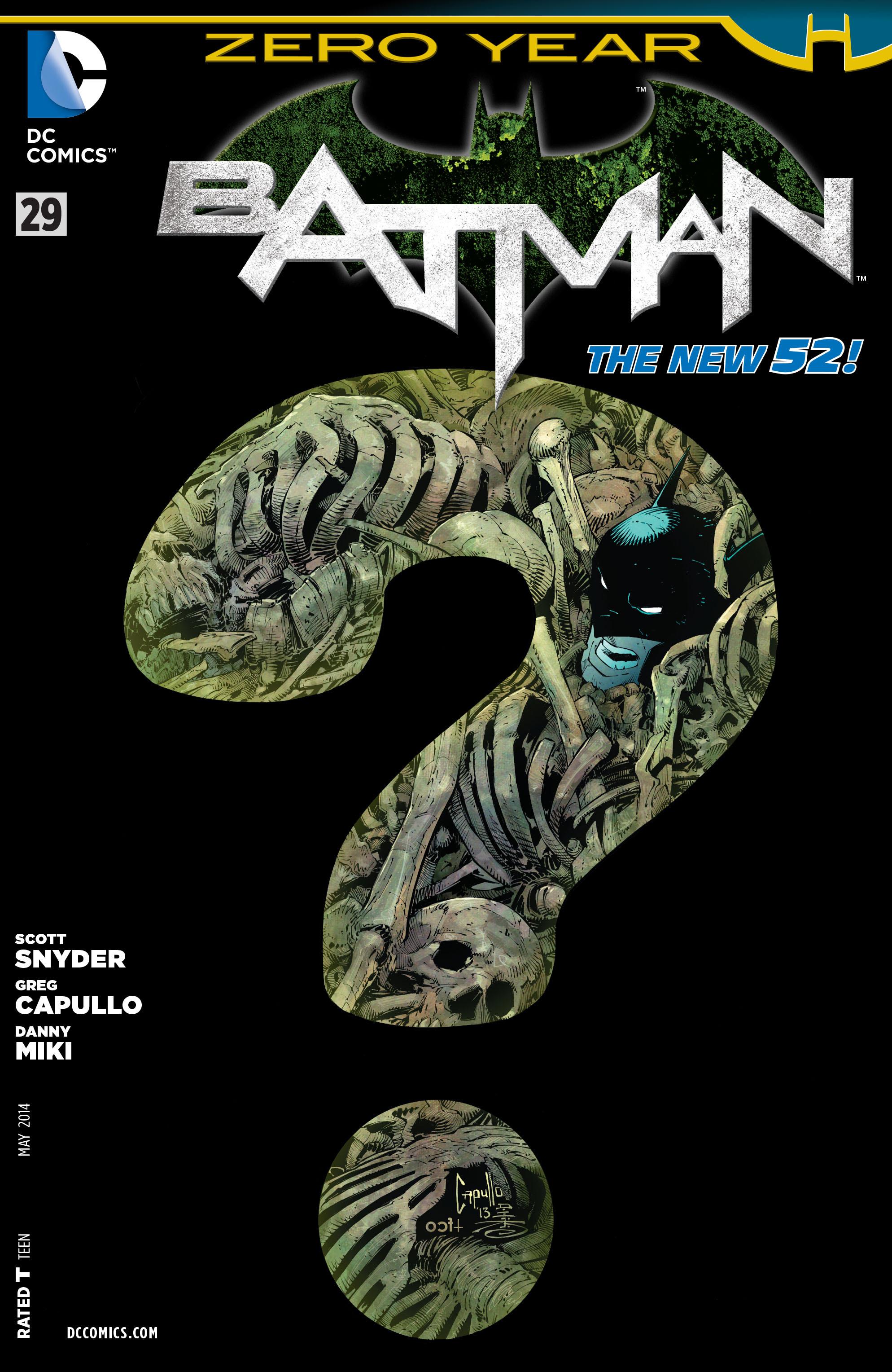 Resultado de imagem para BATMAN # 29