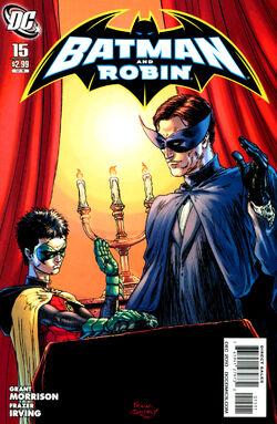 Batman and Robin-15 Cover-1