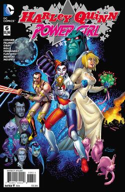 Harley Quinn Power Girl Vol 1-6 Cover-1