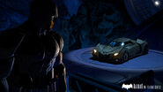 Bruce Wayne and Batmobile Telltale