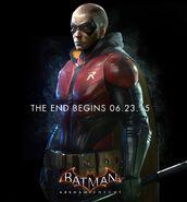 Robin Batman Arkham Knight promo ad
