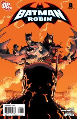 Batman and Robin-8 Cover-1