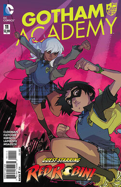 Gotham Academy Vol 1-11 Cover-1