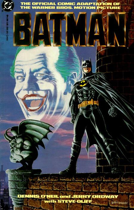 Batman 1989 Movie Comic Adaptation