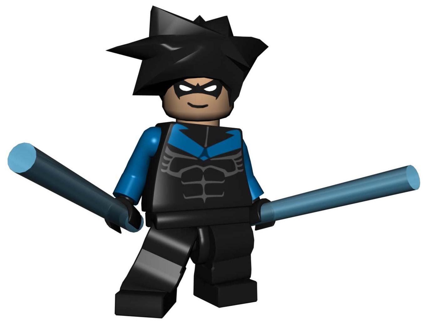 Lego batman wall decals high resolution photographs
