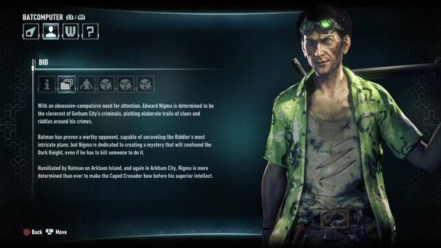 File:Batman Arkham Knight Character Bios Riddler.jpg