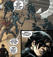 Nightwing & Robin against TYGER