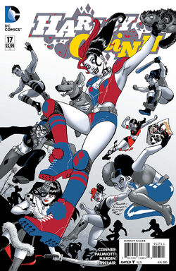 Harley Quinn Vol 2-17 Cover-1