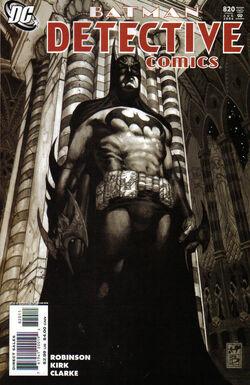Detective Comics Vol 1-820 Cover-1