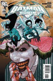 Batman and Robin-15 Cover-2
