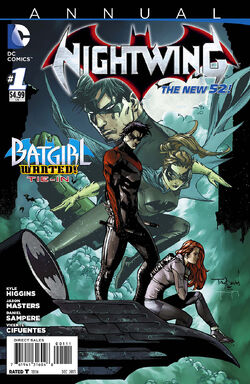 Nightwing Vol 3 Annual-1 Cover-1