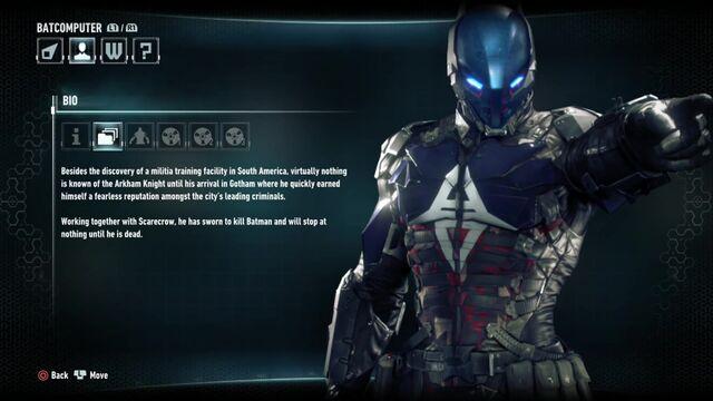 File:Batman Arkham Knight Character Bios Arkham Knight.jpg