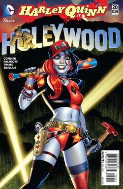 Harley Quinn Vol 2-20 Cover-1